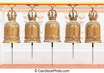Bells in a Buddhist temple