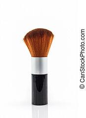 Makeup brush powder Blusher - Makeup brush powder Blusher on...