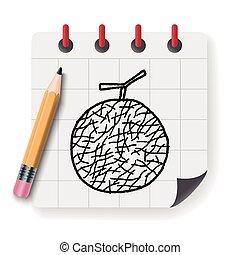 melon doodle