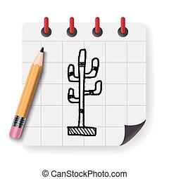 hanger doodle