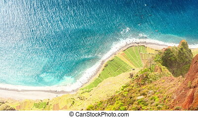 Atlantic Ocean coast, Cabo Girao - Atlantic Ocean coast seen...