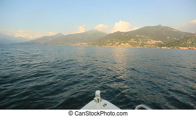 Boat Trip on the Lake Como