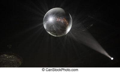 Mirrorball dance floor - Mirrorball over the dance floor