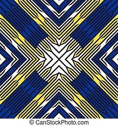 diagonal blue yellow stripes pattern, abstract seamless...