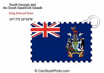 south georgia and the south sandwich islands stamp design