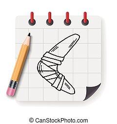 Boomerang doodle