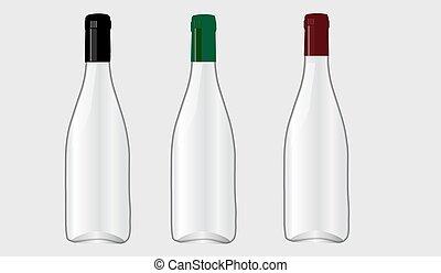 Bottle for wine.