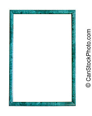 thin green picture frame - Modern thin green picture frame,...