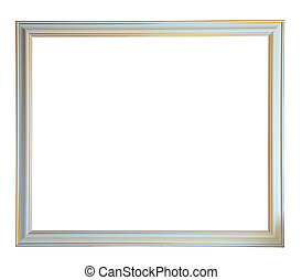 white picture frame - Modern new white picture frame,...