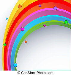 Abstract colored background - Abstract rainbow colored...