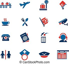 Airport icons - Airport simply symbol for web icons and user...