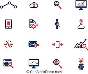 Data analytic simply icons - Data analytic simply symbol for...