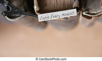 Enjoy every moment idea - Enjoy every moment quote text and...