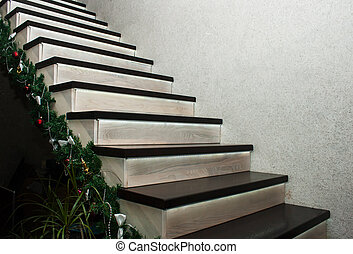 stairs in the house