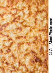 Traditional Turkish home-baked Banitsa - pie with cheese
