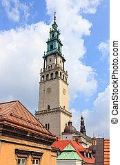 Jasna, Gora, santuario, en, Czestochowa, Polonia,