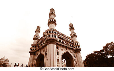 Charminar - 400 year old historic charminar monument in...