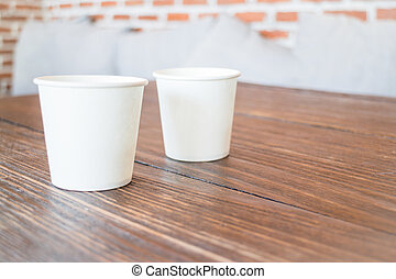 Take away cup of drink, stock photo