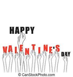 creative valentines day banner