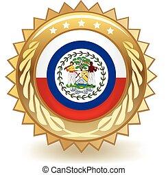 Belize Badge