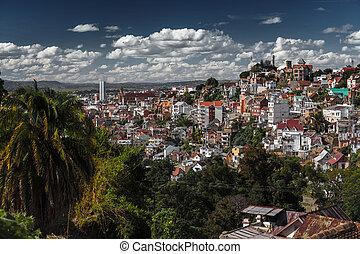 Madagascar - City of Antananarivo at sunny day. Madagascar