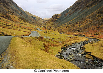 Honister Pass, Cumbria