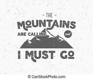 Outdoor inspiration background. Motivation mountain brochure...