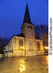 St Johann Baptist Church in Essen Essen, North...