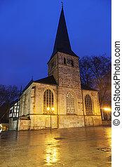 St Johann Baptist Church in Essen Essen, North...