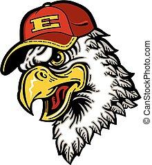 eagle baseball mascot