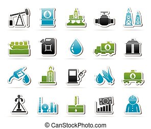 Oil industry, Gas production, transportation and storage...