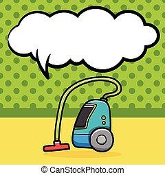 Vacuum cleaner doodle