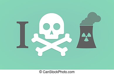 quot;I dont likequot; hieroglyph with a nuclear power...