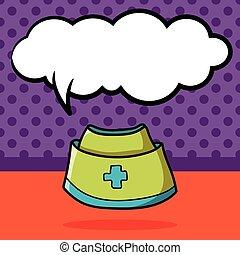 nurse hat color doodle