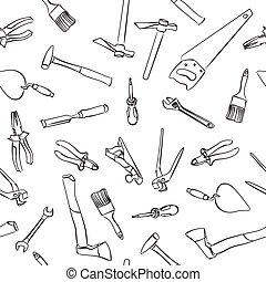 seamless work tools pattern