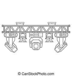 outline stage metal truss concert lighting equipment -...