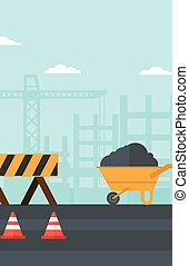 Background of construction site - Background of construction...