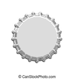 bottle cap - An illustration of a nice bottle cap
