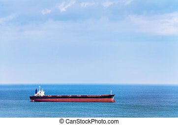 Bulk Carrier Ship in the Black Sea