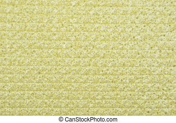 Textured polystyrene foam background - Close up of...