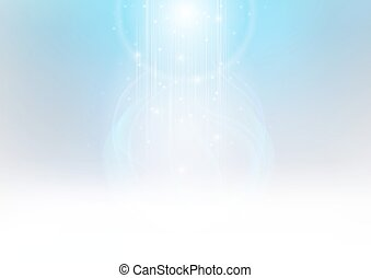 Background with Glowing Light - Abstract Background with...