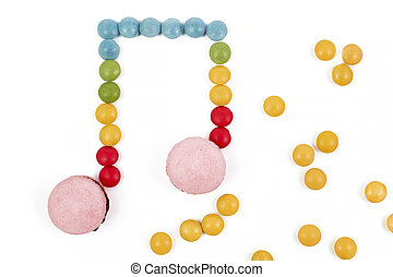 candy musical note