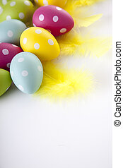 Ester egg - Easter eggs and decoration in vintage sytle...