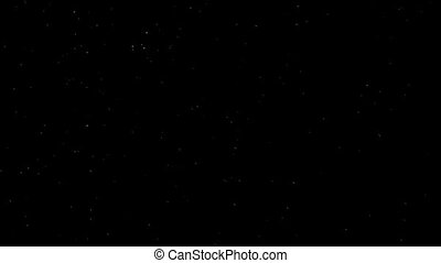 Background motion with stars. HD