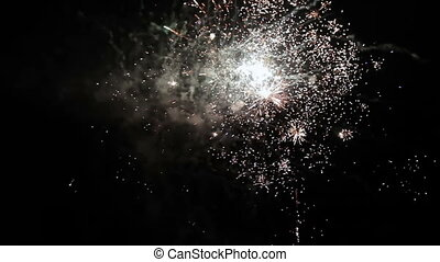 firework display holiday and explosion, and festival