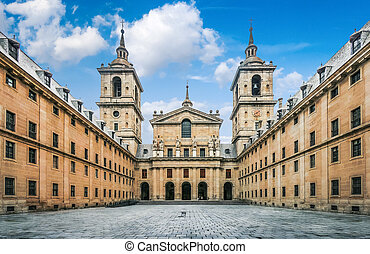 Royal Monastery El Escorial near Madrid, Spain