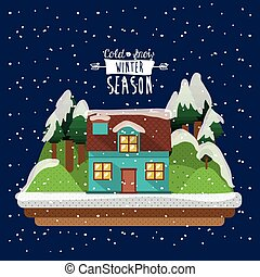 winter season design - winter season design, vector...