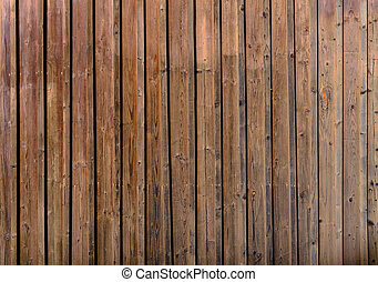 Old cranied gnarly brown wood plank texture background image