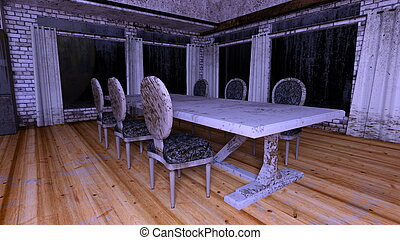 Ruins - 3D CG rendering of ruins
