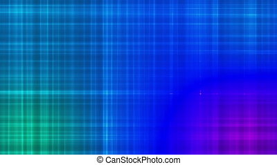 Broadcast Intersecting Hi-Tech Lines, Blue, Abstract, Loopable, HD